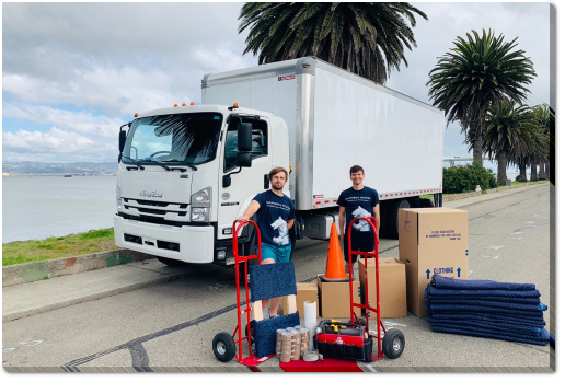 Local California Movers in SF